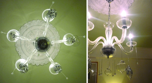 clear chandelier tog