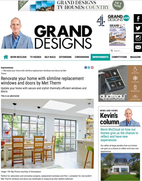 Grand Designs home page